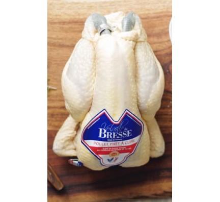 Poulet de Bresse AOP Prêt à cuire (PAC)