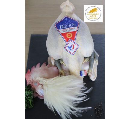 Poulet de Bresse AOP Effilé